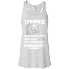 Cat Shirts I Promise I love You and You are my Family T-shirts Hoodies Sweatshirts - TeeDoggie.Com