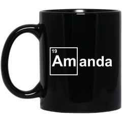 Amanda Chemical Elements Mug I'm Amanda Coffee Mug Tea Mug