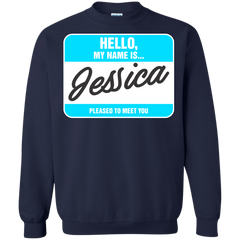 Jessica Shirts Hello My name Is Jessica T-shirts Hoodies Sweatshirts