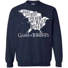 Game Of Thrones  Night Gathers And Now My Watch Begins Shirts Hoodies Sweatshirts