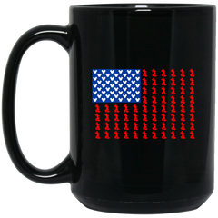 America Mug Mickey Flag Coffee Mug Tea Mug