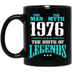 1976 Mug The Man The Myth The Birth Of Legends Coffee Mug Tea Mug