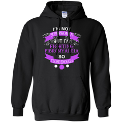 Fibromyalgia T-shirts I'm Not Superman But I'm Fighting Fibromyalgia