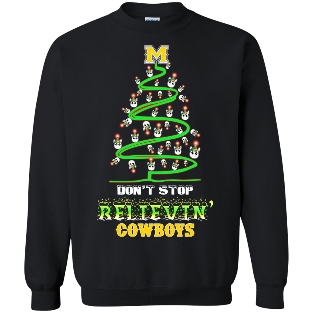 timeless design 63fdf c0d51 Mcneese State Cowboys Ugly Christmas Sweaters Don't Stop ...