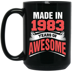 1983 Mug Made In 1983 Year of Awesome Coffee Mug Tea Mug