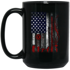 America Mug Flag Coffee Mug Tea Mug