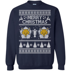 Leicester City T-shirts Merry Christmas Hoodies Sweatshirts