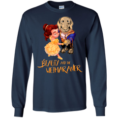 Beauty And The Beast T-shirts Beauty And The Weimaraner Shirts Hoodies Sweatshirts