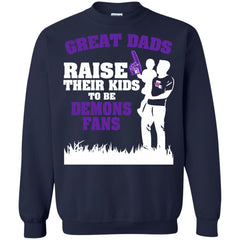 Northwestern State Demons Father T shirts Great Dads Raise Their Kids To Be Demons Fans Hoodies Sweatshirts