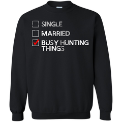 Supernatural T-shirts Busy Hunting Things Shirts Hoodies Sweatshirts - TeeDoggie.Com