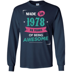 17 1978 Shirts Made in 1978 of Being Awesome T-shirts Hoodies Sweatshirts - TeeDoggie.Com