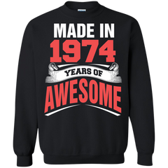 1974 Shirts Made in 1974 Year of Awesome T-shirts Hoodies Sweatshirts - TeeDoggie.Com
