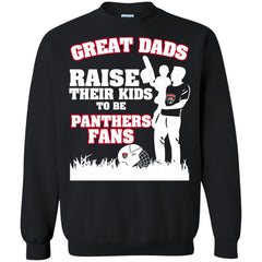 Florida Panthers Father T shirts Great Dads Raise Their Kids To Be Panthers Fans Hoodies Sweatshirts