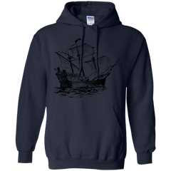 Art Sketches Shirts Galleon Sail Ship T-shirts Hoodies Sweatshirts