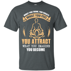 128 Yoga Shirts What you Imagine You Become T-shirts Hoodies Sweatshirts - TeeDoggie.Com