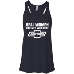 Chevrolet  Chevy Trucks T-shirts Real Women Ride Men Who Drive Chevy Trucks  Shirts Hoodies Sweatshirts