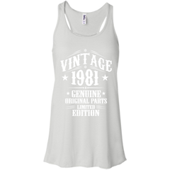 1981 Shirts Vintage 1981 Genuine Original Parts Limited Edition T-shirts Hoodies Sweatshirts - TeeDoggie.Com