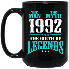 1992 Mug The Man The Myth The Birth of Legends Coffee Mug Tea Mug