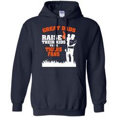 Savannah State Tigers Father T shirts Great Dads Raise Their Kids To Be Tigers Fans Hoodies Sweatshirts