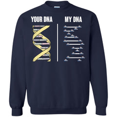 Samford Bulldogs T shirts Your DNA My DNA Hoodies Sweatshirts