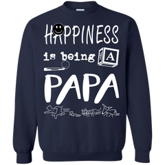 Father's Day Shirts Happiness Is Being Papa T shirts Hoodies Sweatshirts