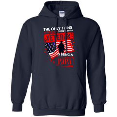 Father's Day Veteran Shirts The Only Thing I Love More Than Being A Veteran Is Being A Papa T shirts Hoodies Sweatshirts