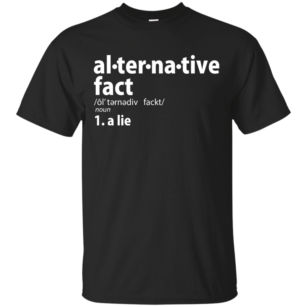 Kellyanne Conway T-shirts Alternative Fact Is A Lie  Shirts Hoodies Sweatshirts