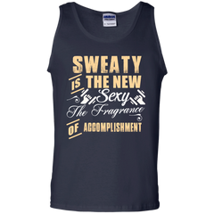 Bodybuilding Shirts Sweaty Is The New Sexy Fragrance Of Accomplishment T-shirts Hoodies Sweatshirts