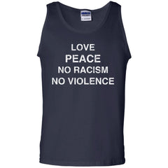 Black Lives Matter T shirts Love Peace No Racism No Violence Hoodies Sweatshirts