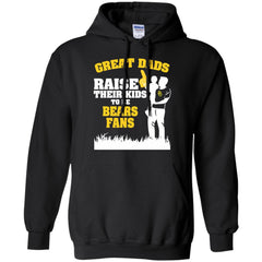 Baylor Bears Father T shirts Great Dads Raise Their Kids To Be Bears Fans Hoodies Sweatshirts