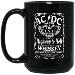 AC DC Highway To Hell Mug Whiskey Coffee Mug Tea Mug