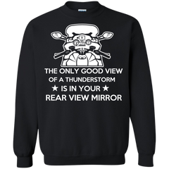 Bikers Shirts Good View Of Thunderstorm Is In You Rear Mirror T-shirts Hoodies Sweatshirts