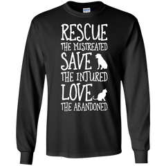 Pet Shirts Rescue Mistreated Save Injured Love Abandoned Cat Dog T-shirts Hoodies Sweatshirts
