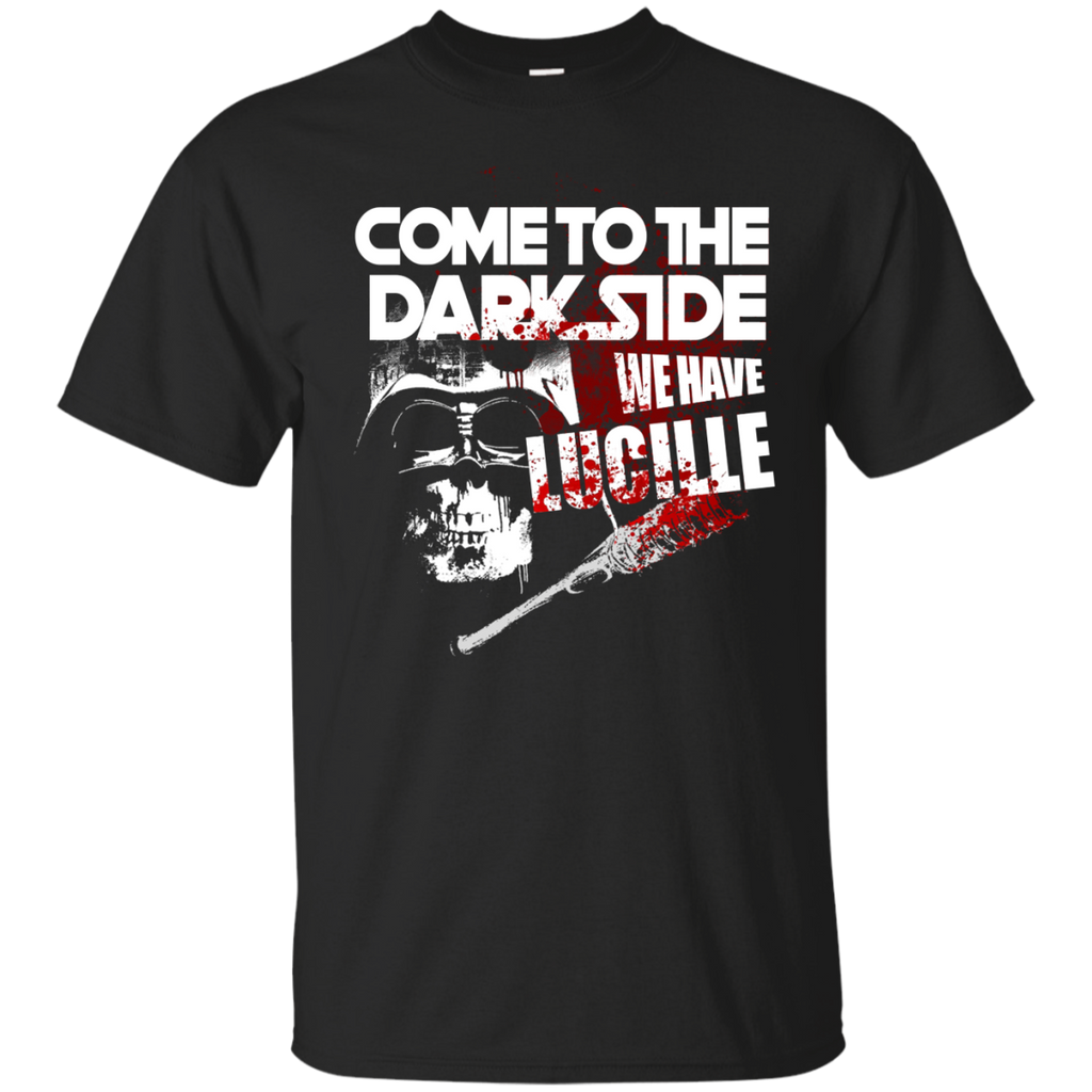 Star Wars The Walking Dead Shirts Lucille Come To The Dark Side T shirts Hoodies Sweatshirts - TeeDoggie.Com