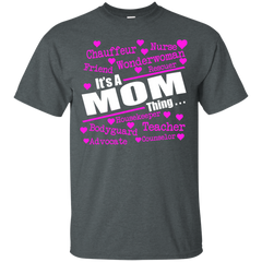 Family Mom Shirts Rescuer Housekeeper Teacher It's A MOM Thing T-shirts Hoodies Sweatshirts