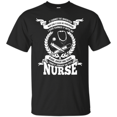 Nurses mom Shirts It can't be inherited purchased I earned it and own it forever tittle Nurse T-shirts Hoodies Sweatshirts (back)