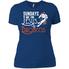 1 Denver Broncos shirts Sundays are for Jesus and Broncos T-shirts Hoodies - TeeDoggie.Com