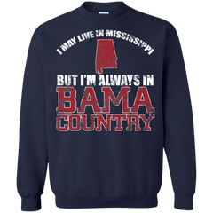 Mississippi Obama Shirts Live In Mississippi But In Bama Country T-shirts Hoodies Sweatshirts