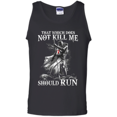 Vikings T-shirts That Which Does Not Kill Me Should Run Shirts Hoodies Shirts - TeeDoggie.Com