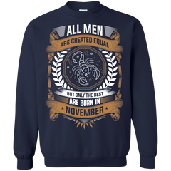 Men Scorpion November Shirts Men Equal Best Born November T-shirts Hoodies Sweatshirts
