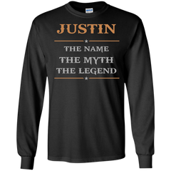Justin Shirts The name The Myth The Legend T-shirts Hoodies Sweatshirts