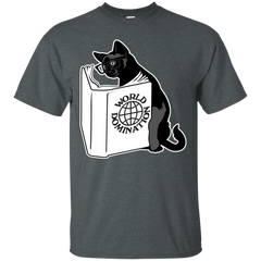 World Domination Cool Cat T shirts Hoodies Gifts For Cat Lovers - TeeDoggie.Com