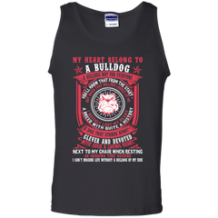 Dog Bulldog T-shirts My Heart Belong To A Bulldog Shirts Hoodies Sweatshirts