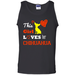 Dog Chihuahua T-shirts This Girl Lovers Her Chihuahua Shirts Hoodies Sweatshirts