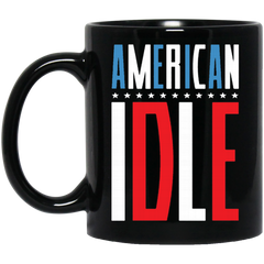 America Mug AMERICAN IDLE Coffee Mug Tea Mug
