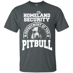 Dog Pitbull Shirts Homeland Security Department of Pitbull T-shirts Hoodies Sweatshirts