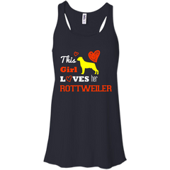 Dog Girl Rottweiler Shirts This Girl Loves Rottweiler T-shirts Hoodies Sweatshirts