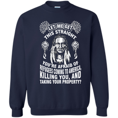 Native Americans Shirts Afraid of Refugees Coming To Africa T shirts Hoodies Sweatshirts