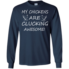 Chickens Shirts My Chickens Are Clucking Awesome T-shirts Hoodies Sweatshirts - TeeDoggie.Com