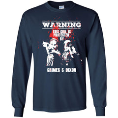 The Walking Dead T shirts This Girl Is Protected By Grimes N Dixon Hoodies Sweatshirts